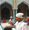 Slokas After A Noon Namaaz: Muslim children study Sanskrit and Hindu ones read Quran in these UP madrasas