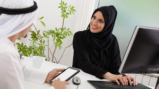 """the role of saudi women in leadership Saudi women are getting down to business  """"the role of women in the household is different now because the women used to be followers but now they are leaders ."""